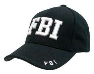 Delux Military Law Enforcement Cap Hat  FBI Clothing