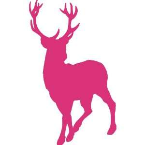 deer head logo pink - photo #24