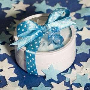 36) Blue Bath Confetti Baby Shower Favors 1st Birthday