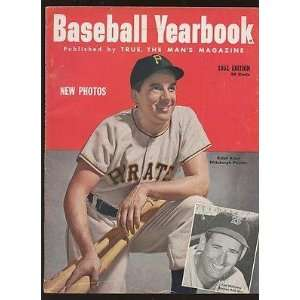 Magazine With Ralph Kiner Front Cover EX   MLB Programs and Yearbooks