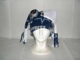 Dallas Cowboys Fleece Jester hat NEW