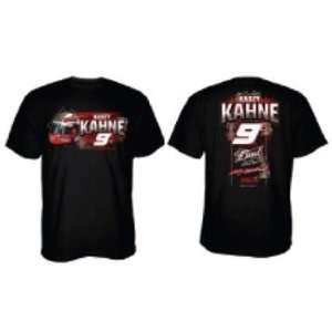 #9 Kasey Kahne Black Helmet Design Mens Tee Shirt L