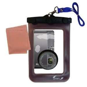 Gomadic Clean n Dry Waterproof Camera Case for the Sony DSC TX5