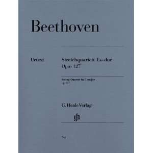 Beethoven String Quartet E flat major op. 127 (Henle
