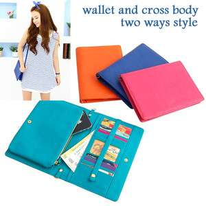 NEW Clutch Shoulder Bag handbag Travel Wallet Purse