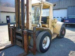 1973 Hyster H200ES Forklift lift truck 20,000# 8,000 HR