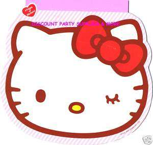 Hello Kitty Face Shaped Sticker Pad 100 Stickers