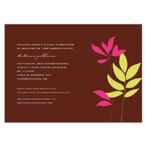 Pantai Bridal Shower Invitations: Health & Personal Care