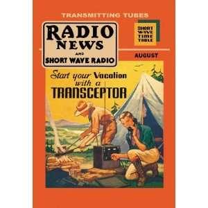 Exclusive By Buyenlarge Radio News and Short Wave Radio