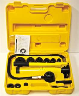 Hydraulic Knockout Punch Kit 10T Knock Out Driver Tool