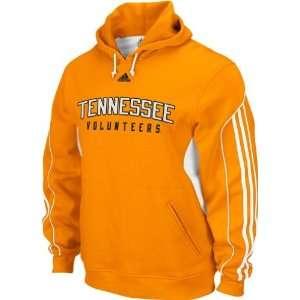 Tennessee Volunteers Adidas Orange 3 Stripe Hooded