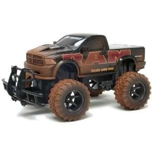 15 Scale Radio Control Vehicle Mud Slinger Dodge Ram Toys & Games