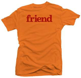 Friend Retro Vintage Cool Urban Funny T shirt