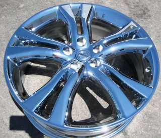 20 FACTORY NISSAN MURANO CHROME WHEELS RIMS FX35 FX50 FX45 EXCHANGE