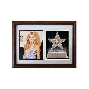 Faith Hill 8 x 10 Custom Framed Hollywood Stars