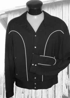 Cadzoots Retro Rockabilly Western Cowboy Jacket 2XL