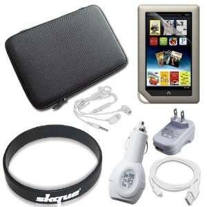 com 7 Items Accessory Bundle for Barnes Noble Nook Color, Nook Tablet