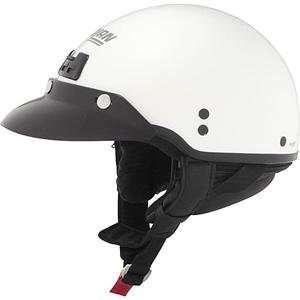 Nolan Cruise Metallic Half Helmet   Medium/Black