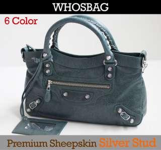 NEW GENUINE LEATHER Shoulder Tote Women`s Handbag Ladies Handbag FREE