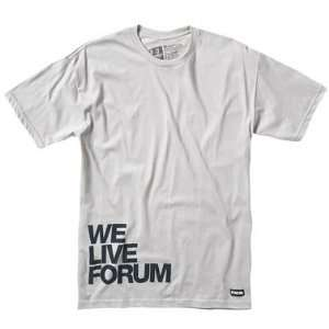 Forum Mens We Live forum Short Sleeve Tee  Sports