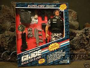 RARE 12 GI Joe Rapid Fire Limited Edition MINT