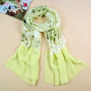 women 100% silk long dress scarf shawl wrap Christmas gift NIB