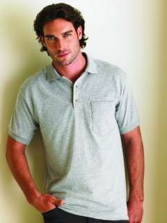Gildan Mens Golf Polo Shirt With Pocket 10 COLORS