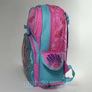 Mermaid Ariel 16 Backpack   Princess Girls School Bag Large