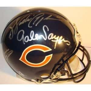 Walter Payton +4 SIGNED F/S BEARS GAME Helmet JSA LOA