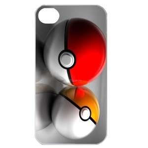 NEW Pokemon Ball Image in iPhone 4 or 4S Hard Plastic Case Cover
