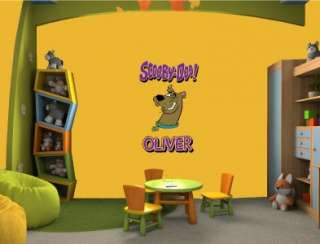 SCOOBY DOO Vinyl Wall Sticker Decal Art