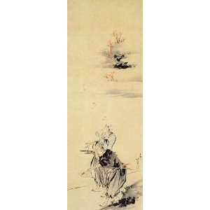 Acrylic Keyring Japanese Art Katsushika Hokusai No 107