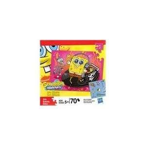 Nickelodeon Spongebob Squarepants Jigsaw Puzzle   70 Piece