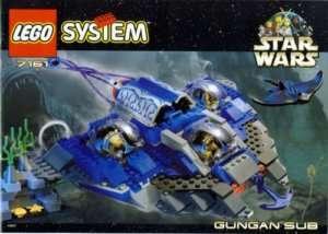Lego Star Wars #7161 Gungan Sub New MISB HTF