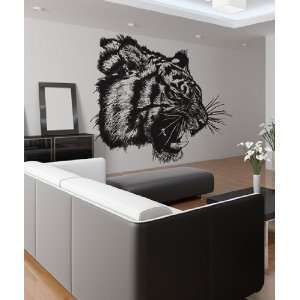 Vinyl Wall Decal Sticker Angry Tiger Growl Item791m