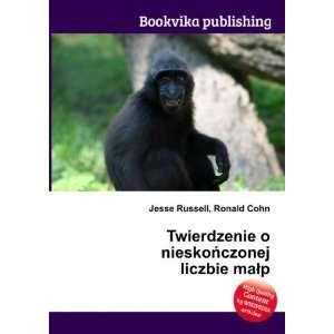 nieskoÅczonej liczbie maÅp: Ronald Cohn Jesse Russell: Books