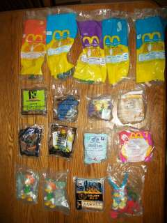 17 lot of Happy Meal and other toys new in bag mcdonalds burger king