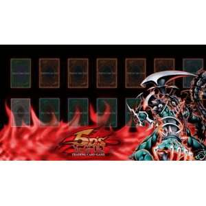 Yugioh DARK ARMED DRAGON FLAME Playmat Game Mat Pad DAD