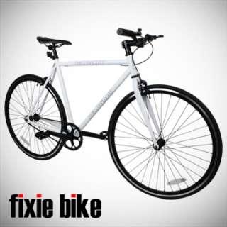 Gear Bike Single Speed Riser Bar Fixie Road Bike Track Bicycle