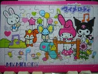 Mini 30Pcs Jigsaw Puzzle Lovely ~ My Melody & Kuromi #5