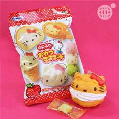 Sanrio Hello Kitty Mini Soft Squeeze Keychain Taiyaki