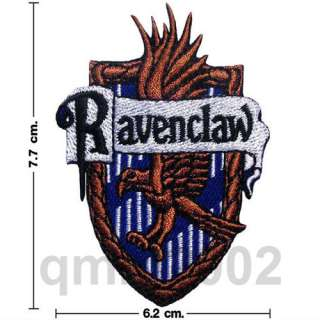 Harry Potter House Crest Iron On Patch Badge Magic Fancy Party Custume
