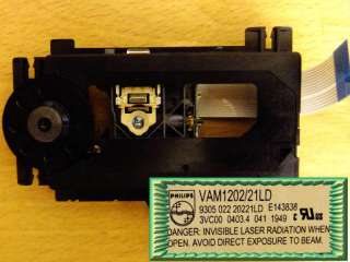 Philips VAM1202/21LD Laser Unit For MicroMega Aria