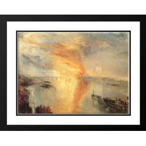 Turner, Joseph Mallord William 36x28 Framed and Double Matted The