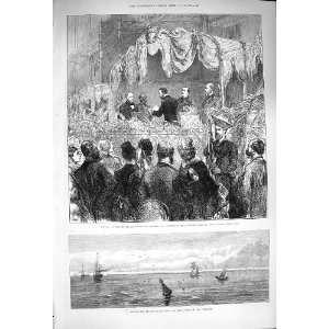 1876 Saugor Lighthouse Hooghly Aquarium Westminster