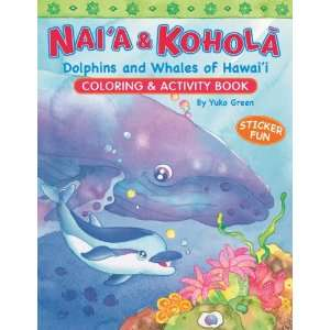 Whales of Hawaii Coloring & Activity Book (9781597008037): Yuko Green