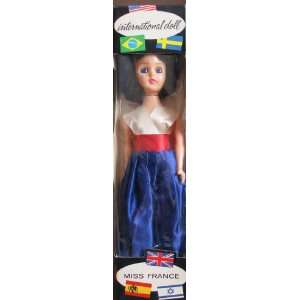 Inernaional Doll MISS FRANCE 8 Collecor Doll