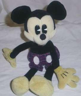 Pie Eye Mickey Mouse Bean Bag Disney Gund doll