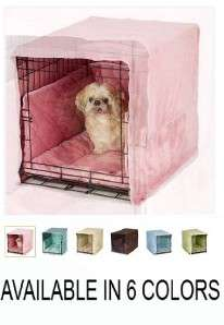 Pet Dreams Plush Cratewear Set XS X Small Dog Cat Crate Cover & Bed