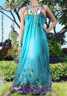 Neck Sexy Evening Ladies Long Maxi Dress Size M L XL 6 16 US